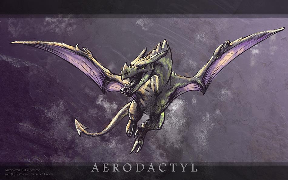 Aerodactyl by Kezrek on DeviantArt