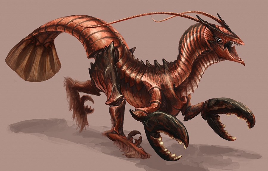 Splice - Lobsteraptor by Kezrek