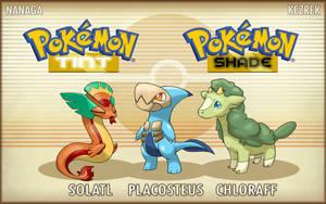 Pokemon Sanki Starters - REVEAL by Kezrek