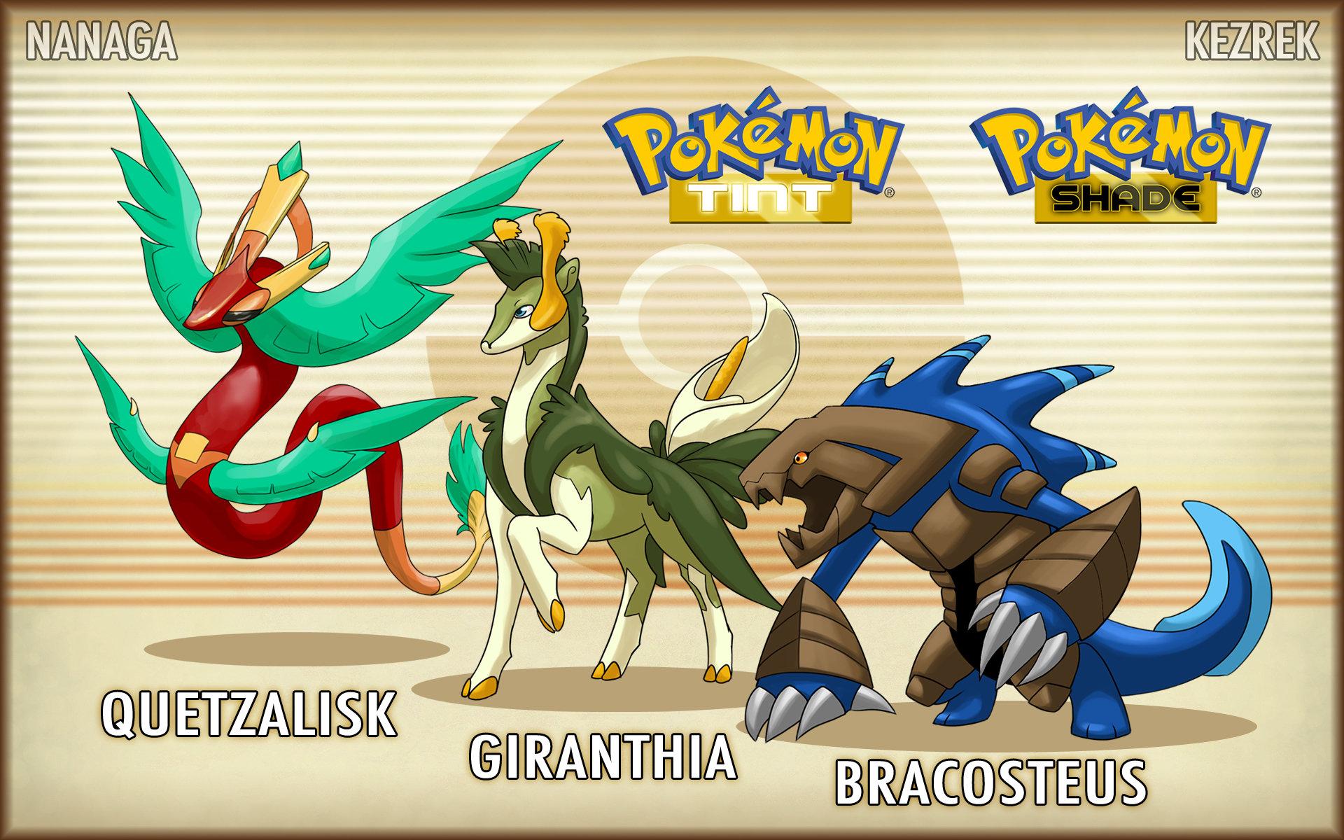 Real Art Design Group : Pokemon sanki starters final evos reveal by kezrek on