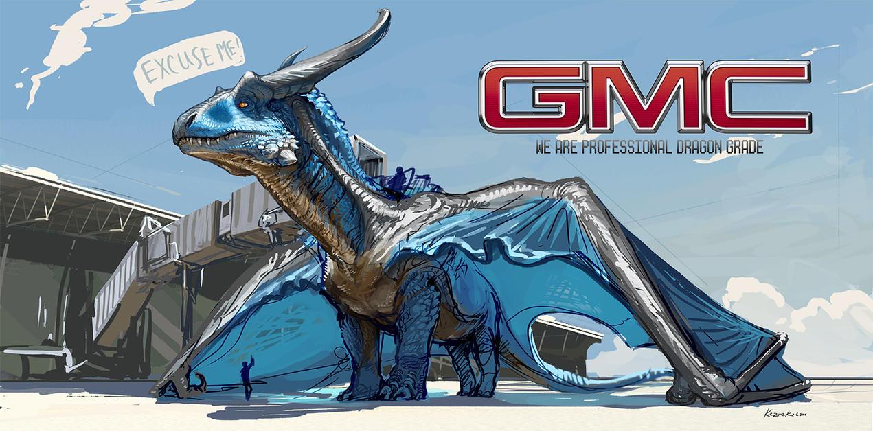 The Dragon by Kezrek