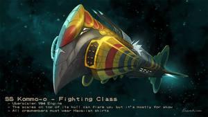Pokemon Starships - Kommo-o