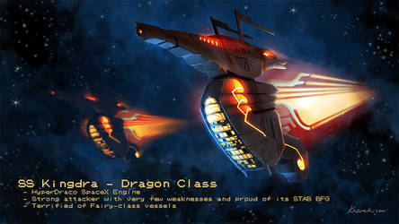 Pokemon Starships - Kingdra