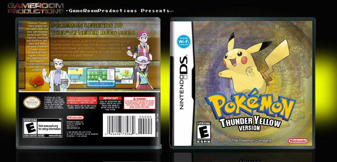 Pokemon thunderyellow version by acepokemontrainer on deviantart pokemon thunderyellow version by acepokemontrainer publicscrutiny Image collections