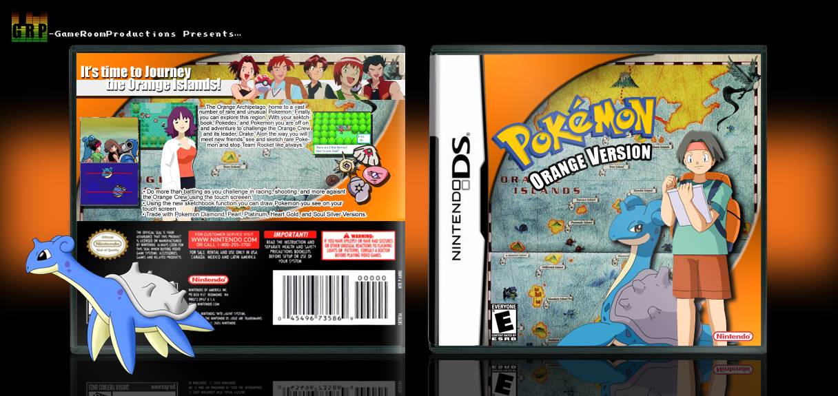 pokemon orange version by acepokemontrainer on deviantart