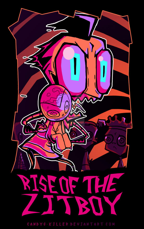 RISE OF THE ZITBOY POSTER by Candys-Killer