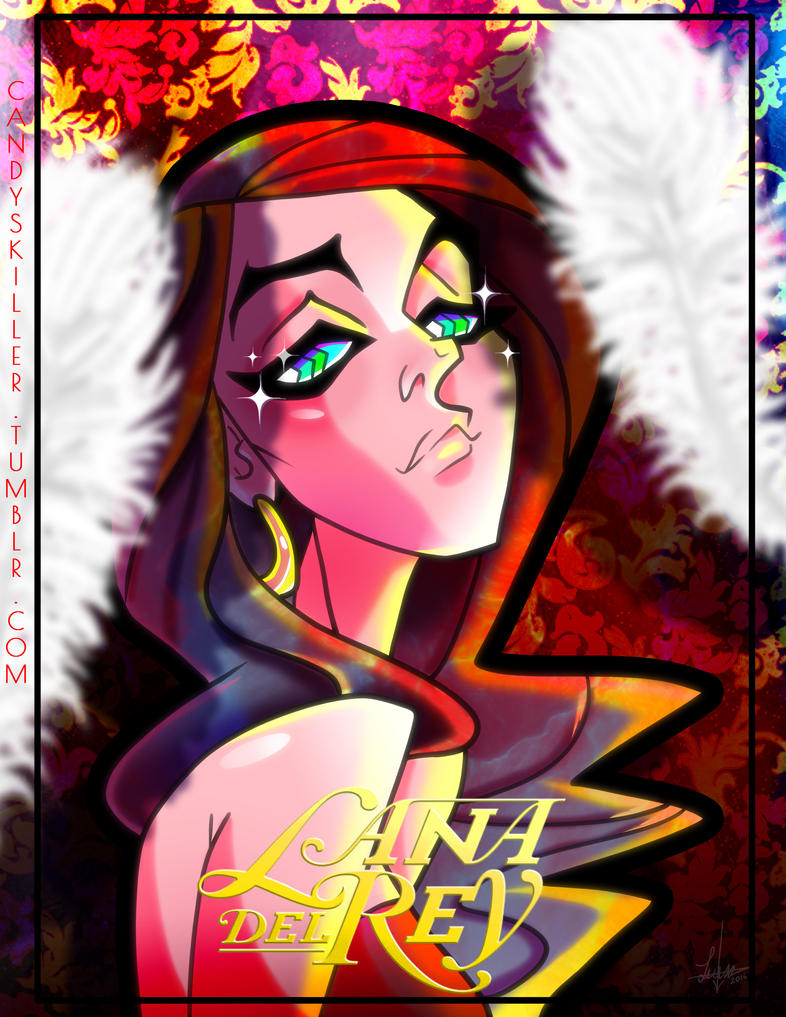 LANA DEL REY by Candys-Killer