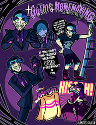 GOTHIC HOMEMAKING by Candys-Killer