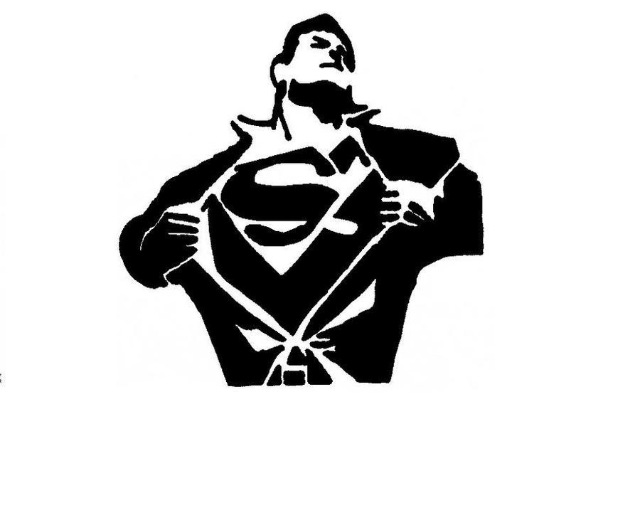 Genius image for superman pumpkin stencil printable