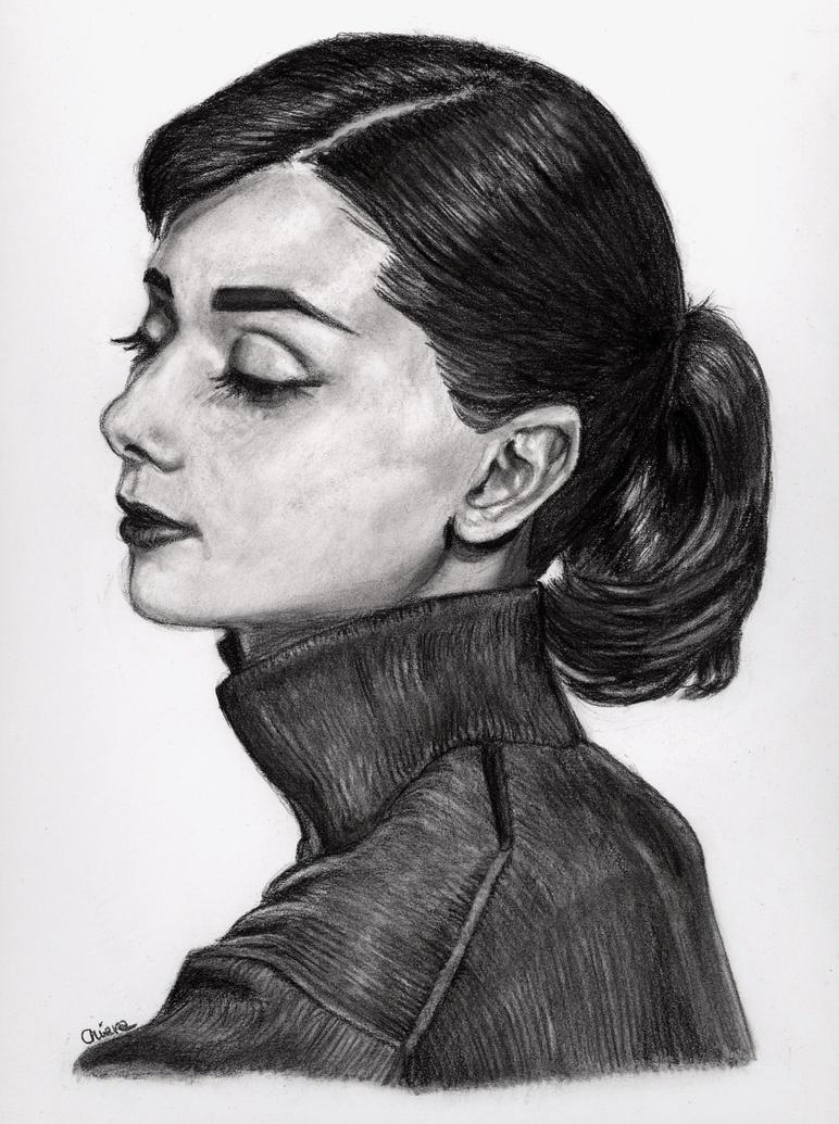 Audrey Hepburn by Eirene86