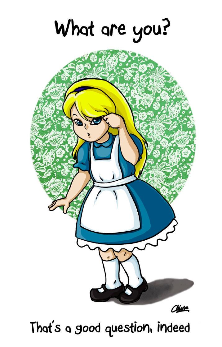 Alice in Wonderland by Eirene86