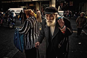 Athens life street by GDALLIS