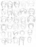 The Anime Hair Index 2