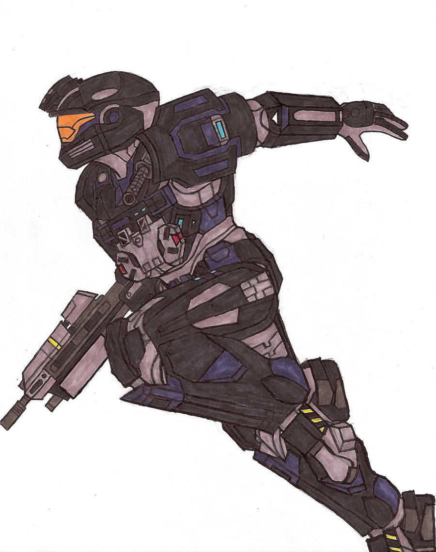 Halo Reach Spartan by Fantasy34 on DeviantArt