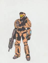 Halo Reach Spartan 03 by Fantasy34