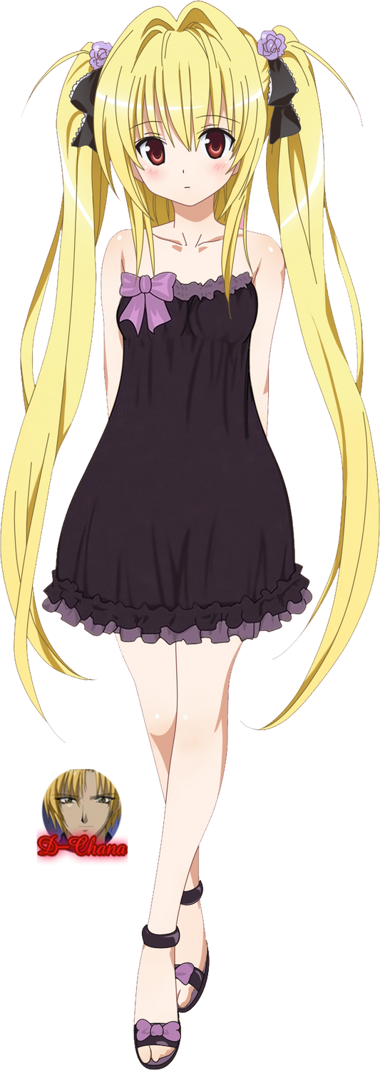 Yami To Love-Ru Render by x-NewMoon-x