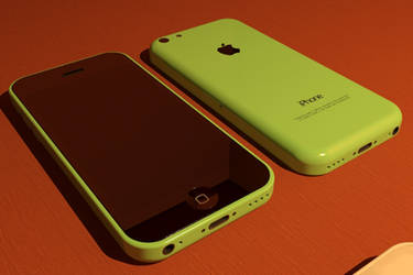 Iphone 5c Green by ShapeDestro
