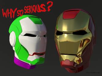 Iron Joker: why so serious, Iron Man? by ShapeDestro