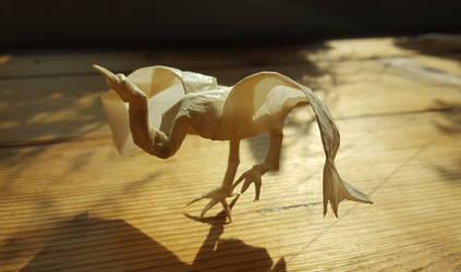 Origami: Crane (Roman Diaz) by p4ndor4TheBox