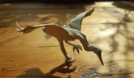 Origami: Crane 2 (Roman Diaz) by p4ndor4TheBox