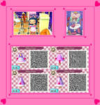 Animal Crossing New Leaf Kiruminzuu QR Code 1