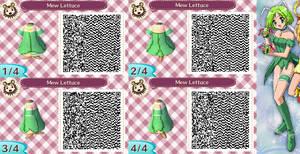 Animal Crossing QR Code Mew Lettuce by SuperAngel502
