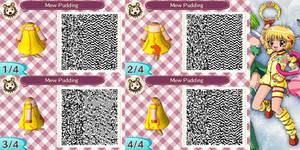 Animal Crossing QR Code Mew Pudding by SuperAngel502