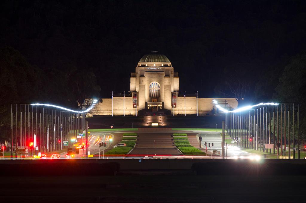 Australian War Memorial - Long Exposure by DOOMGUY1001