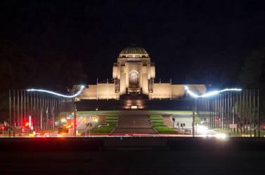 Australian War Memorial - Long Exposure