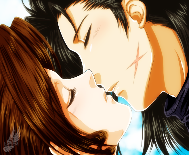 Zack Fair And Aerith Kiss Zerith Kiss - J...