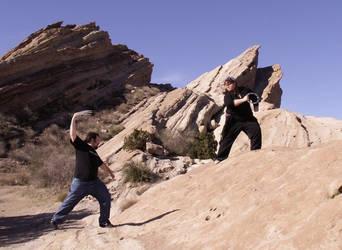 Battle for the Gorn Rocks