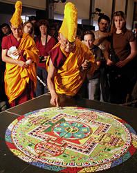 Mandala's destruction