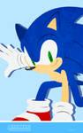 Sonic Channel 2017 Sonic Cell Wallpaper by ShockRabbit