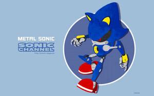 Sonic Channel Metal Sonic 2017 by ShockRabbit