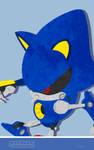 Sonic Channel 2017 Metal Sonic Cell Wallpaper by ShockRabbit