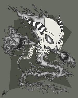 Commission EdgeTenebris 6: The Obsidian by ShockRabbit