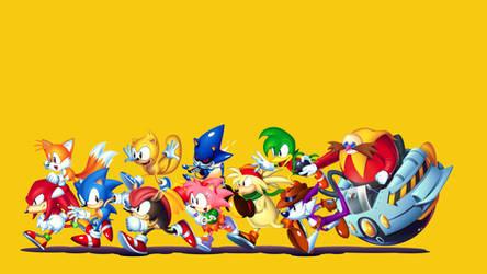 Sonic Mania Pretty Much Rules