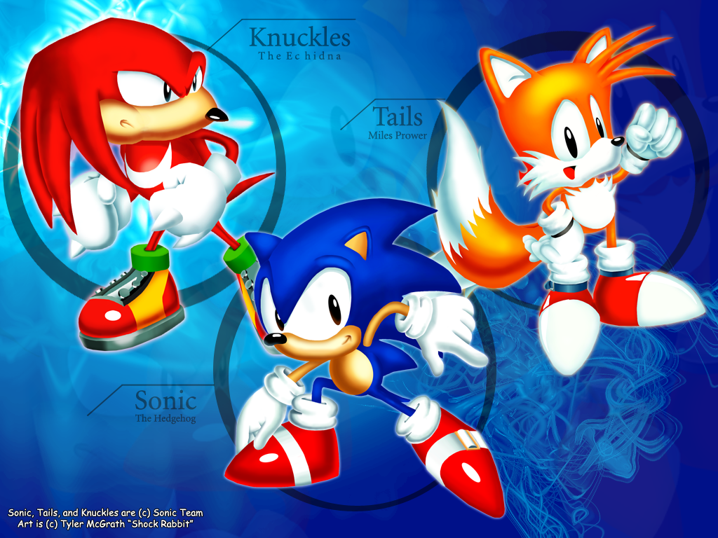 Oldschool Sonic Wallpaper By ShockRabbit