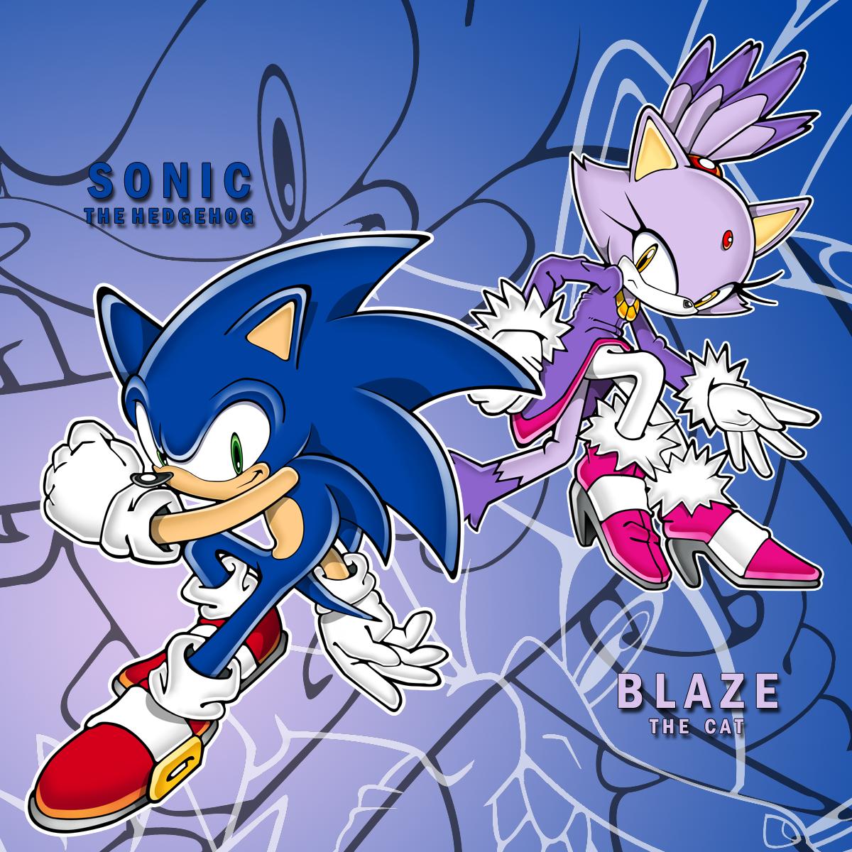 Rush Wallpaper: Sonic Rush Art By ShockRabbit On DeviantArt