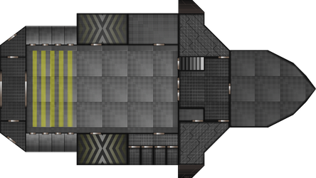 Ship Layout: Free Merchant 1st Floor by Mysticara