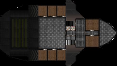 Ship Layout: Free merchant 2nd Floor by Mysticara