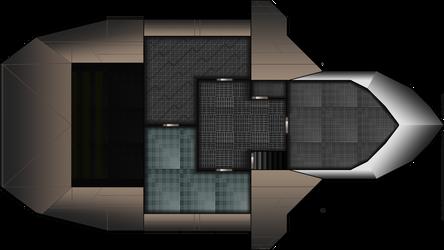 Ship Layout 3rd Floor by Mysticara