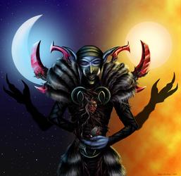 Reuben the Corruptor of Balance by Mysticara