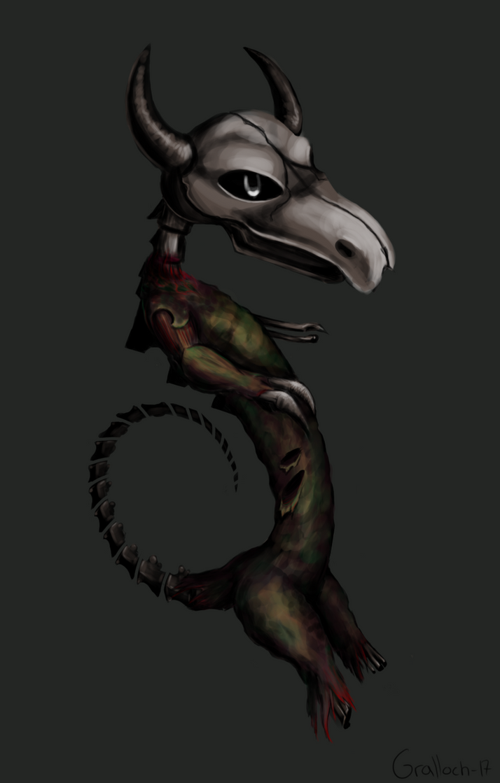 Scourged Hatchling by Mysticara