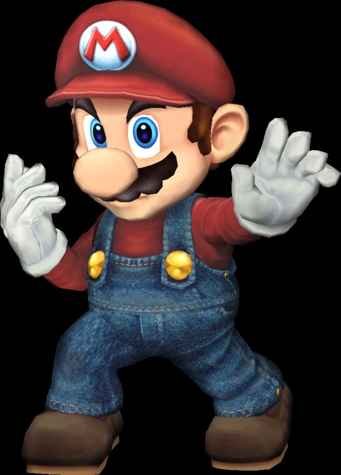 Super Smash Bros For PC Mario By NoahLC