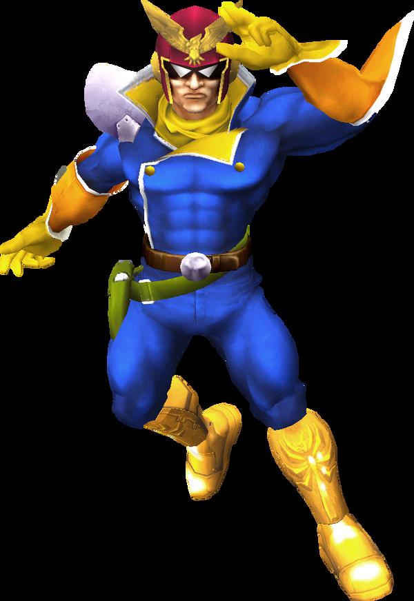 Super Smash Bros for PC: Capt. Falcon by NoahLC on DeviantArt