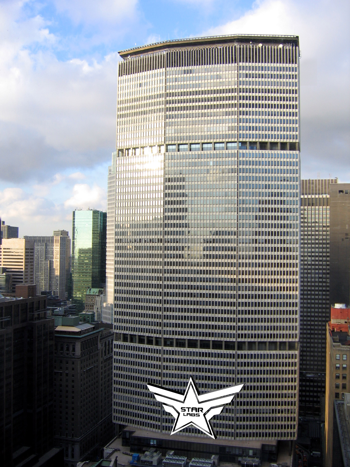 Star Labs Building Metropolis Deleware