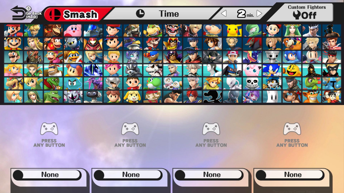 Super Smash Bros  Beyond All Unlockable Characters by NoahLC on