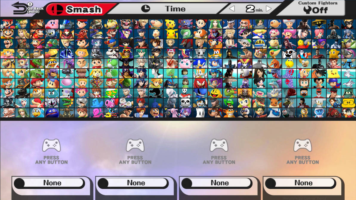 Super Smash Bros  Beyond All Characters with DLC by NoahLC on DeviantArt