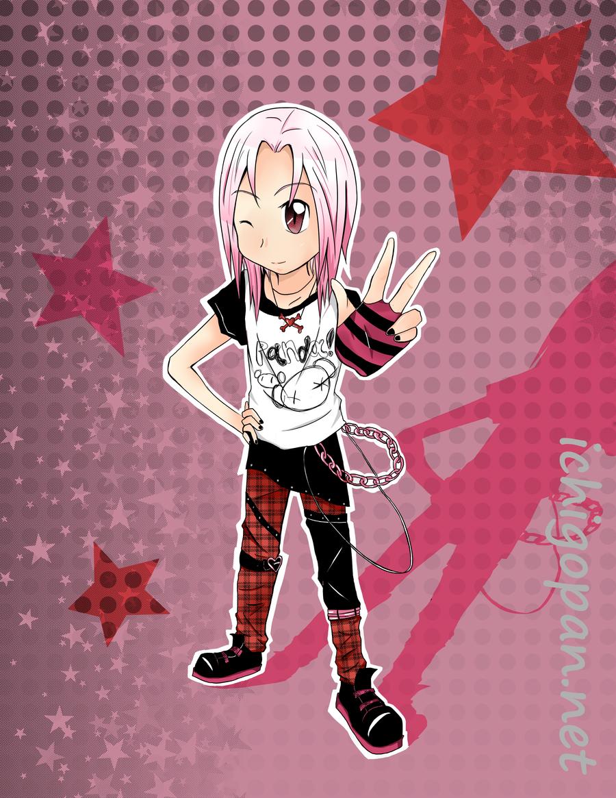 Cute and Punk Daisuki by fearthebread